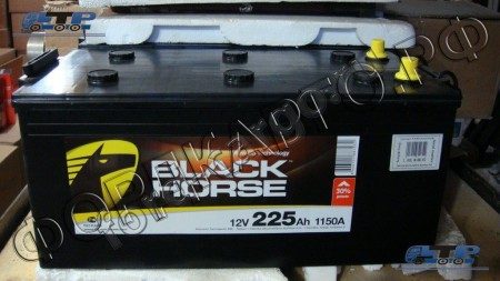 Аккумуляторная Батарея BLACK HORSE 225 АЧ П.П. Сербия 6C46-10655-AA